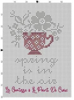 Something to look forward to! Cross Stitch Freebies, Cross Stitch Charts, 123 Stitch, Le Point, Needlework, Embroidery, 30, Free Pattern, Stitching