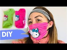 Hi guys Created this cool hack! Home made DIY FACE MASK using old socks. Face mask is easy to make with only a few materials. No sewing machine needed. Easy Face Masks, Homemade Face Masks, Diy Face Mask, Laughing Funny, Diy Masque, Diy Couture, Mask Making, Filter, Sewing Projects