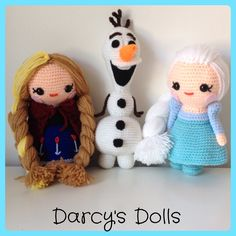 Elsa Amigurumi Patron Gratis : 1000+ images about Amigurumi on Pinterest Crochet olaf ...