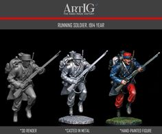 Artig producer of tin soldiers, historical miniatures, toy soldiers 54 mm, figurines, kits of military figures Military Figures, Toy Soldiers, 3d Projects, Miniatures, War, Fictional Characters, Fantasy Characters, Mockup