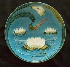 waterlily art nouveau - Google Search