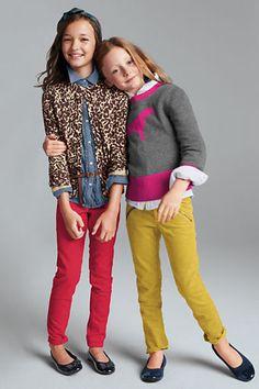 Niñas con estilo #colores #kids #fashion