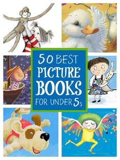 Picture books for under fives ... a list of must read picture books for under fives #PictureBooks #booksforkids