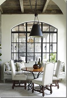 that window… and banquette