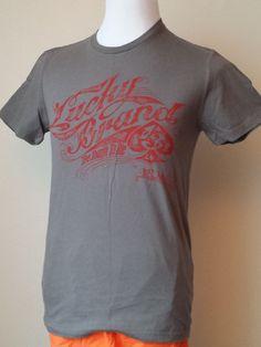 Lucky Brand men size S cotton t-shirt short sleeve graphic (Guatemala) #LuckyBrand #GraphicTee