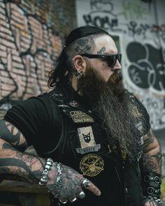 Badass Beard, Epic Beard, Viking Beard, Viking Hair, Bearded Tattooed Men, Bearded Men, Lumberjack Style, Der Gentleman, Boyfriends
