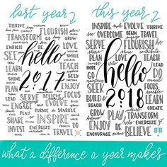 So I was creating this new Hello printable for the bohoberrytribe today I was using last years printable as a guide and I couldnt help but notice what a HUGE difference there was between the quality of my hand lettering from then to now Proof that practice makes progress I cant wait to see what changes yet another year will bring If youre a Tribe Member head on over to the resource library to download this years cover page If youre not on my email list you can join via the link in my bio…