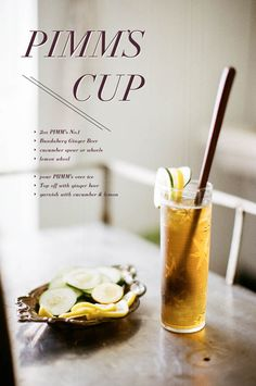 One of my favorite (and easiest!), cocktails. @g i n g e r a n d b i r c h // images by lily glass