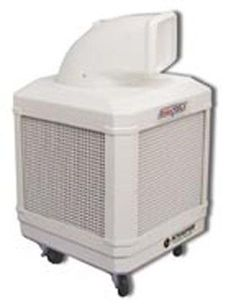 WayCool 1/3 Hp evaporative cooler with fixed direction air flow. WC-1/3HPA