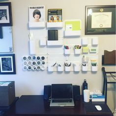 We're loving this organized office – shout out to Instagrammer @amezolab for the share! It's great to see our Perch by Urbio products creating such #neatspaces.