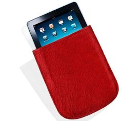 iPad Sleeve in Red Pony by Alan
