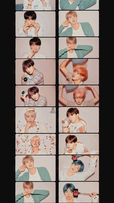 BTS love yourself Map of soul persona