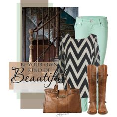 Colored Jeans - Polyvore