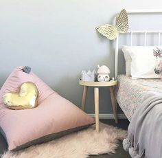 Such a beautiful space by @happylittletenant featuring our fairy toadstool light  #friendsoflittlebelle #littlebelle #lighting #girlsroom #girlsroomdecor #fairyhouse