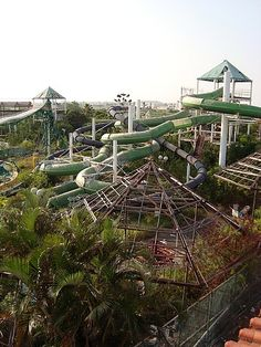 """Abandoned water park"" by TravelPod blogger ashleysblog from the entry ""Scooters, Salt and Sun! "" Tainan, Taiwan"
