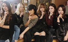"""It's perhaps the most famous """"Shhh"""" in TV history, and now it's permanently on the fingers of the six ladies who made it that way. To celebrate the..."""