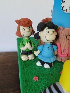 Modelagens em Pasta Americana Da Patty Pimentinha e da Lucy - Turma do Snoopy e Charlie Brown!