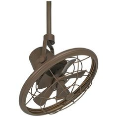 "18"" Casa Vieja Big Sky Oil-Rubbed Bronze Ceiling Fan - #N0511 