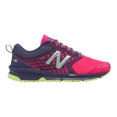 9d23c37dedaaf Women s New Balance FuelCore Nitrel Trail Running Shoe - Dark Cyclone Alpha  Pink Athletic Shoes