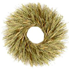 "I pinned this 30"" Preserved Harvest Glow Wreath from the Floral Treasure event at Joss and Main!"