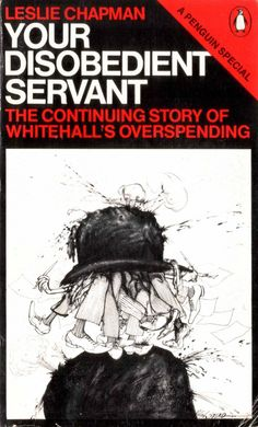 1979 'Your Disobedient Servant' Cover illustration by Ralph Steadman