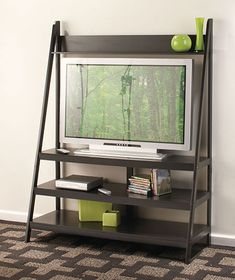 Looks nice and modern. Ladder TV Stands | The Lakeside Collection