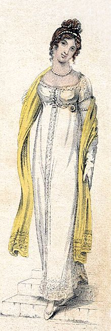 London Dress for September 1809.