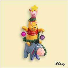 2006 Winnie the Pooh A Very Friendly Christmas Tree