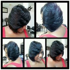 Admirable Feathered Bob And Bobs On Pinterest Short Hairstyles Gunalazisus