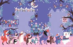 Let's join the parade of 11 pipers piping! Marijke Buurlage (http://www.marijkebuurlage.com) beautifully illustrated our Storytime Issue 15 poem ~ STORYTIMEMAGAZINE.COM