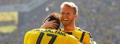 1.Sptg. Dortmund-Mainz 2:1 -André Schürrle (r.), Pierre-Emerick Aubameyang