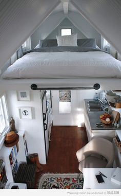 Cramped but impressive flat...