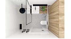 Mała przestrzeń, a wszytko się zmieściło. Prysznic, pralka, szafki. Grunt to dobre zaplanowanie miejsca. Projekt Agnieszki Grabowskiej dla Grupy Moderator Malaga, Bathtub, Bathroom, Standing Bath, Washroom, Bathtubs, Bath Tube, Full Bath, Bath