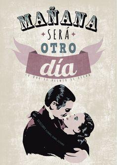 mañana será otro día  #cartelesdecine  #frasesdecine