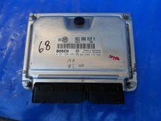 Volkswagen VW Jetta GTI ECU Engine Control Module 021906018M  021 906 018 M  0261206486