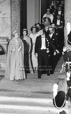 Ingrid of Sweden   Queen Ingrid The Young King And Princess Margaretha In Cp