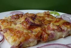 Taco Pizza, Lasagna, Hamburger, Cake Recipes, Main Dishes, Bakery, Pork, Vegetarian, Favorite Recipes