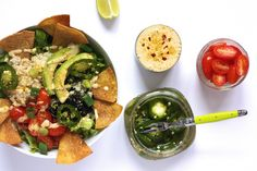 Vegan Nacho Salad #MeatlessMonday #cincodemayo #vegan