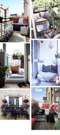 5 Tips For Small Balconies. Balcony IdeasBalcony ...