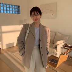 New Outfits, Winter Outfits, Casual Outfits, Cute Outfits, Fashion Outfits, Korean Girl Fashion, Korean Fashion Trends, Asian Fashion, Office Fashion