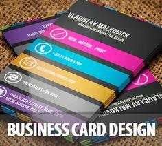 Business Cards – 40 Extraordinary & Creative Design via karachicorner.com