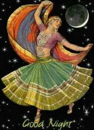 gypsy dancing under the moon - Google Search Gypsy Life, Gypsy Soul, Dance Oriental, Art Nouveau, Gypsy Women, Gypsy Girls, Vintage Gypsy, Vintage Art, Indian Art Paintings