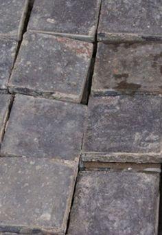 reclaimed blue quarry tiles
