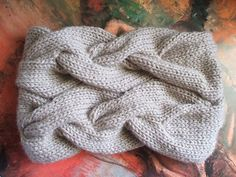 A Very Braidy Cowl by Maryse Roudier