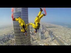 Burj Khalifa Pinnacle BASE Jump (4K) | Ainanas.com