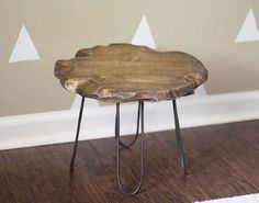 small rustic stool with diy hairpin style legs no welding required, diy, painted furniture, repurposing upcycling, rustic furniture Handmade Home Decor, Cheap Home Decor, Diy Home Decor, Room Decor, Rustic Furniture, Diy Furniture, Furniture Design, Painted Furniture, Luxury Furniture