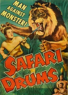 Safari Drums 1953 (Back drop East Africa)