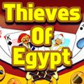 Thieves of Egypt - http://www.allgamesfree.com/thieves-of-egypt/  -------------------------------------------------  Move all cards to the 8 foundations from Ace to King. On the tableau you can place cards on other cards in descending order and alternating color. Click on the stack (top left) to get new open cards.   -------------------------------------------------  #BoardGames