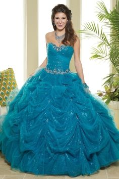 Buy New Arrival Quinceanera Dresses Sweetheart Ball Gown Sweetheart Floor Length With Beadings Ruffles On line
