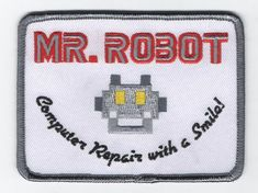 Accurate Mr Robot Patch fsociety Free U.S. Shipping by curiousgood